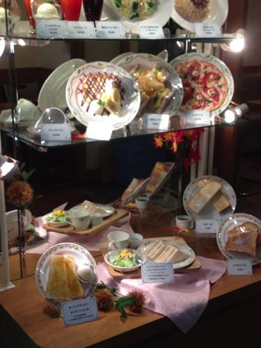 Cafe Arsの食品サンプル