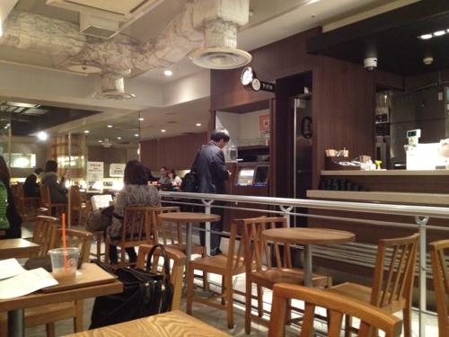 サンマルク・カフェ店内