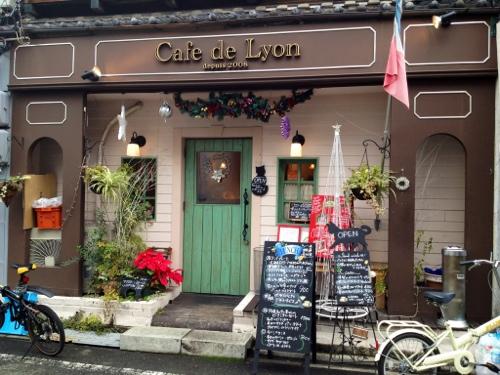Cafe de Lyonの外観