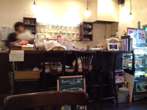 Cafe de Lyonの店内