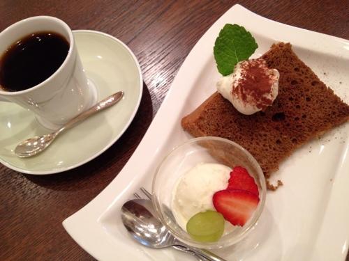 Cafe de Lyonのデザート
