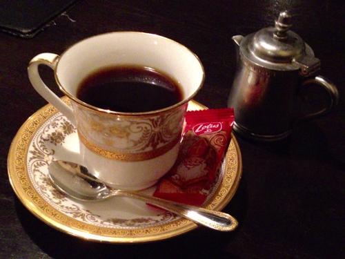 桜坂珈琲店の炭焼きコーヒー