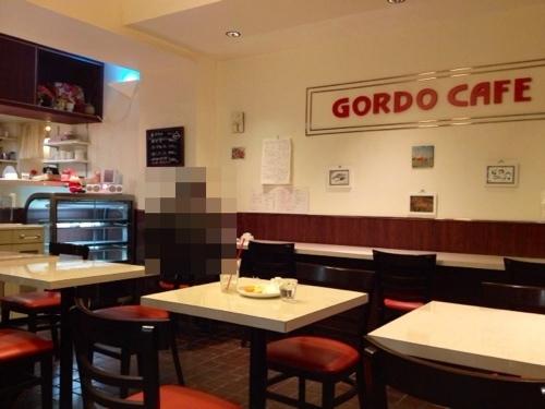 GORDO CAFEの店内