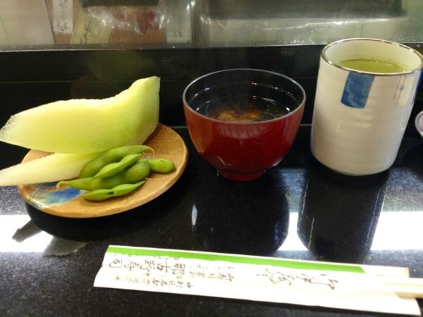 那古野寿司のみそ汁