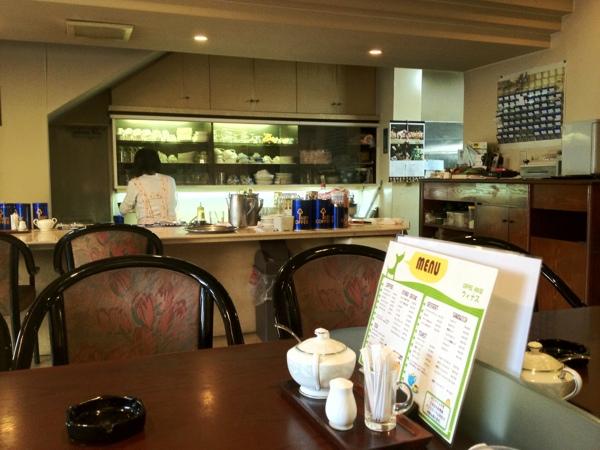 コーヒーハウス ウィナス 店内