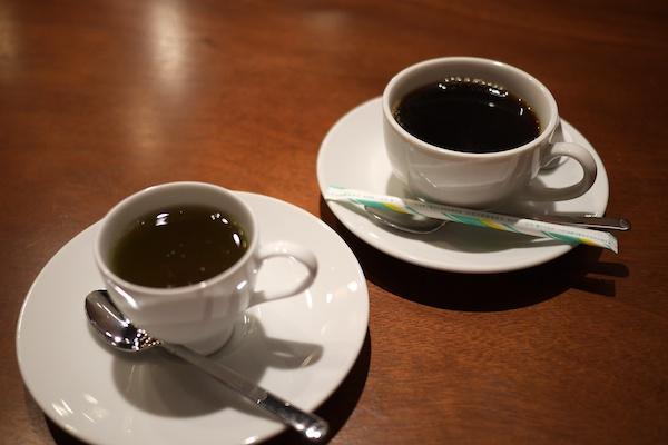 [コーヒーとゼリー写真]