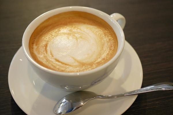 Atlantic CAFEのカフェラテ